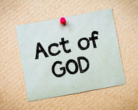 Act of God Royalty Free Stock Image