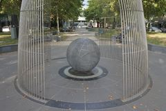 The ACT Memorial in Canberra in Australian Capital Territory Australia. The ACT War Memorial honoring men and women associated with the Australian Capital stock photo