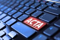 ACTA Immagini Stock