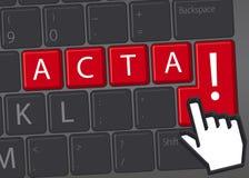 ACTA Imagem de Stock