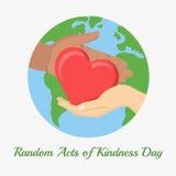 Acte de la gentillesse illustration libre de droits
