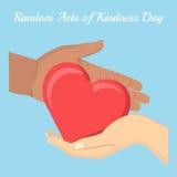 Acte de la gentillesse illustration stock