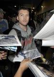 Acteur australien d'avatar Sam Worthington chez LAX Image libre de droits