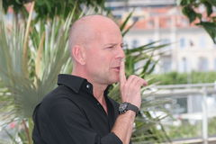 Acteur Bruce Willis Photographie stock libre de droits