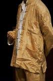 Acteur in Chinese kleren stock afbeelding