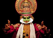 Acteur de Kathakali photo stock