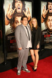 Acteur Jonas Hill en Jordanië Klein #1 Stock Foto