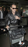 Acteur Jude Law bij LOSSE luchthaven royalty-vrije stock foto