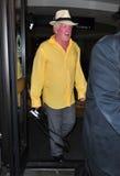 Acteur Nick Nolte à l'aéroport de LAX Photos stock
