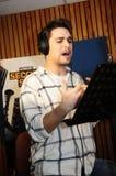 Acteur portugais dans le studio Images stock