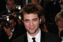 Acteur Robert Pattinson photo libre de droits