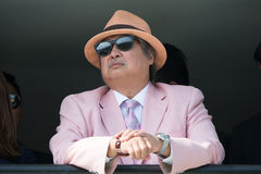 Acteur Sammo Hung in Hong Kong Royalty-vrije Stock Foto's