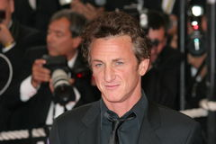 Acteur Sean Penn photo stock