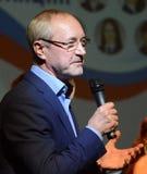 Acteur soviétique et russe de théâtre et de film, réalisateur, artiste du ` s de personnes du jury de Yevgeny Gerasimov de Fédéra images stock