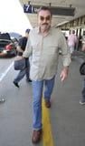 Acteur Tom Selleck à l'aéroport de LAX Photos libres de droits