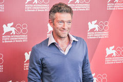 Acteur Vincent Cassel Image stock