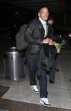 Acteur Will Smith à l'aéroport de LAX Photographie stock