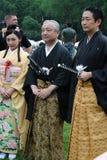 Acteurs et ambassadeur japonais photos stock