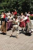 Acteurs jouant Shakespeare image libre de droits