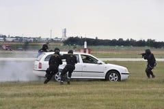Actie 3 van de politie Royalty-vrije Stock Afbeeldingen