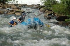 Actie Rafting Royalty-vrije Stock Foto's