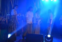 Actieband Congrock 17 Semarang Royalty-vrije Stock Afbeelding