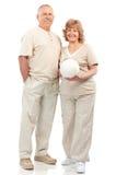 Actief bejaard paar Stock Fotografie