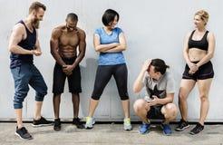 Actief de Trainingconcept van de Mensensport royalty-vrije stock afbeeldingen