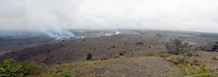 Actief vulkaan Groot Eiland Hawaï Royalty-vrije Stock Foto's