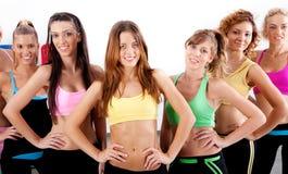 Actieve dames stock fotografie