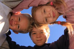 Actieve jonge geitjes Royalty-vrije Stock Foto