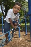 Actieve jonge jongen Royalty-vrije Stock Foto