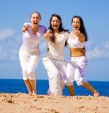 Actieve meisjes Stock Foto