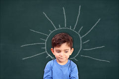 Actieve meningen van kinderen Stock Afbeeldingen