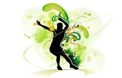 Actieve mensen vectorillustratie royalty-vrije illustratie