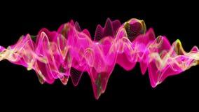 Actieve neuronennetwerkactiviteit met kleuren veranderende synapsen royalty-vrije illustratie