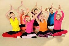 Actieve sportieve meisjes Royalty-vrije Stock Afbeelding