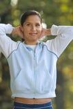Actieve vrouw Stock Foto