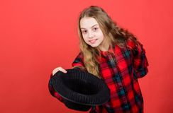 Acting lessons guide children through wide variety of genres. Develop talent into career. Enter acting academy. Girl. Artistic kid practicing acting skills with royalty free stock photography