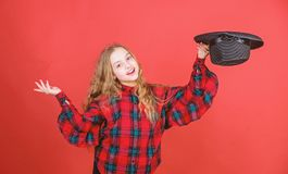 Acting school for children. Acting lessons guide children through wide variety of genres. Develop talent into career. Enter acting academy. Girl artistic kid stock photo