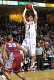 Action 2011-12 de basket-ball de NCAA Image libre de droits