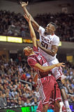 Action 2011-12 de basket-ball de NCAA Photo libre de droits