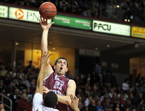 Action 2011-12 de basket-ball de NCAA Photos libres de droits