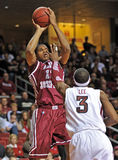 Action 2011-12 de basket-ball de NCAA Photographie stock