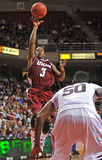 Action 2011-12 de basket-ball de NCAA Photo stock