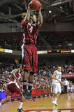 Action 2011-12 de basket-ball de NCAA Image stock