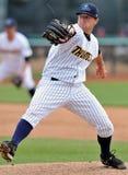 Action 2012 de base-ball de Ligue Mineure Photographie stock