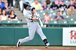 Action 2012 de base-ball de Ligue Mineure Photo stock