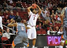 Action 2012 du basket-ball des hommes de NCAA Images stock