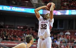 Action 2012 du basket-ball des hommes de NCAA Photo libre de droits